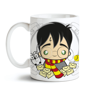 Caneca Harry Potter - Harry no Toonicos 1
