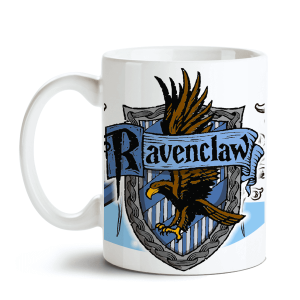 Caneca Harry Potter - Hogwarts Corvinal no Toonicos 1