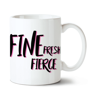 Caneca Katy Perry - Fine Fresh Fierce no Toonicos 2