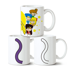 Conjunto de Canecas Sailor Moon no Toonicos 2