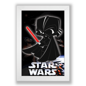 Poster Star Wars - Darth Vader no Toonicos 2