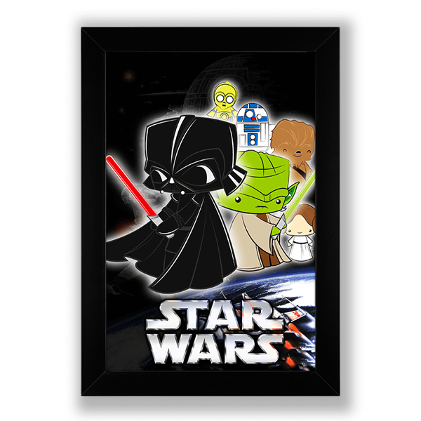 Poster Star Wars no Toonicos 1