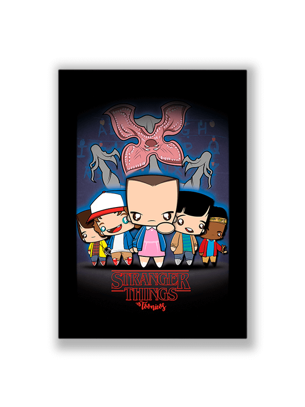 Poster Stranger Things no Toonicos 1