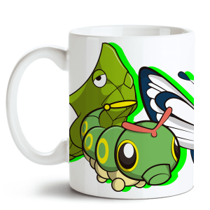 Caneca Pokémon Butterfree no Toonicos 1
