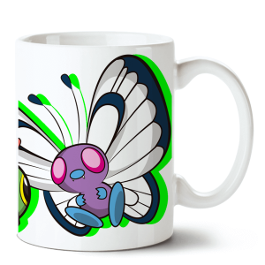 Caneca Pokémon Butterfree no Toonicos 2