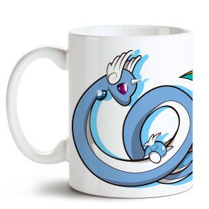 Caneca Pokémon Dragonite no Toonicos 1