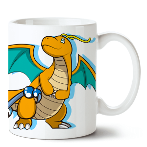 Caneca Pokémon Dragonite no Toonicos 2